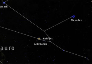 Constelación de Tauro – Constelaciones del Zodiaco - Sendas del viento