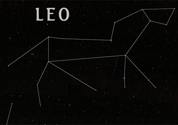 Constelacion de Leo - Sendas del viento