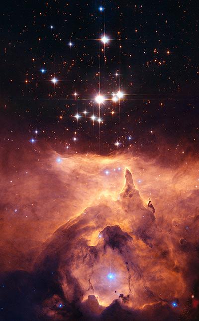 Nebulosa NGC6357 -Pismis 24-1