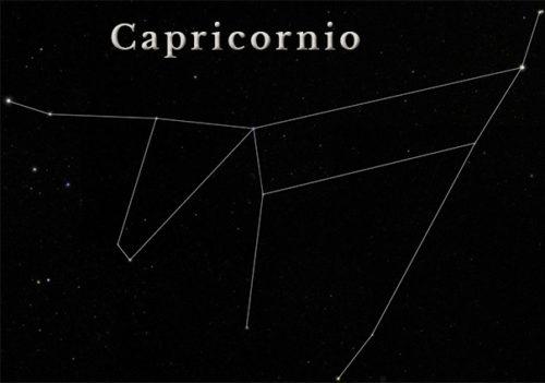 Constelacion de capricornio - Sendas del viento