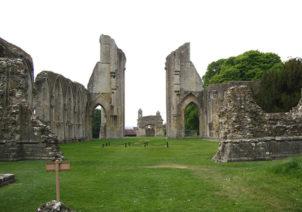 Abadia Glastonbury - Rey arturo - Sendas del viento