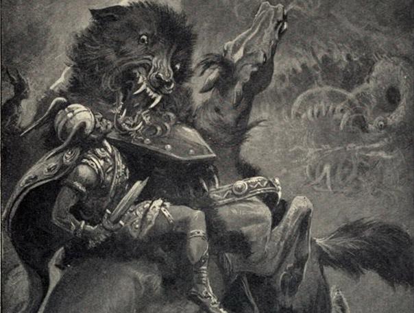 Fenrir El Lobo De La Mitología Nórdica Sendas Del Viento