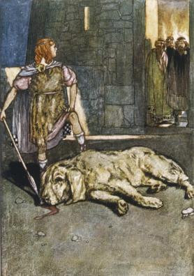 Cúchulainn - El perro de Culanm
