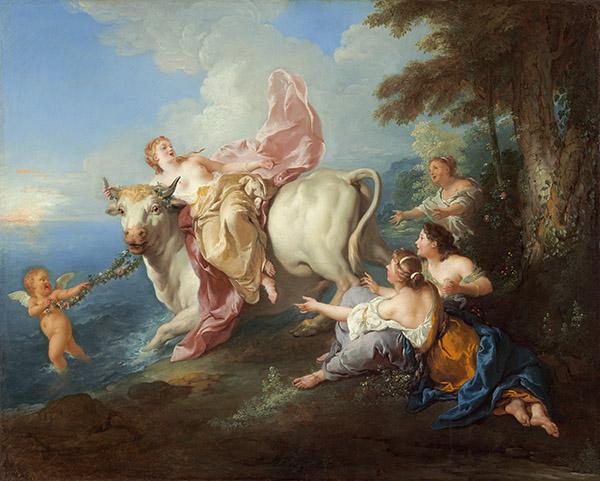 El rapto de Europa - Jean François de Troy