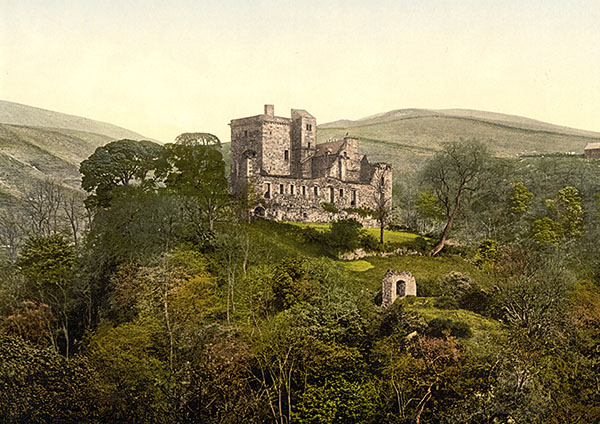 Diarmuid Ua Duibhen - Castillo clan Campbell - Sendas del vientoi