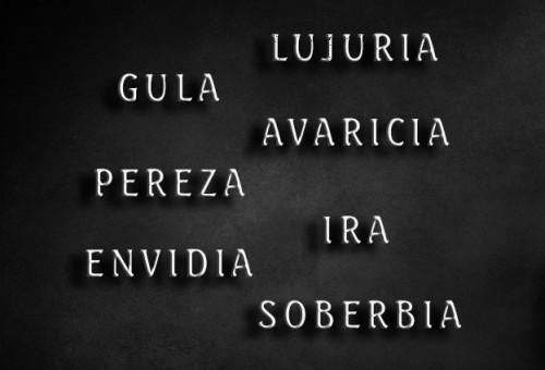 ¿Cuáles son los 7 pecados capitales?