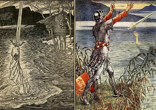 Sir bedevere - La leyenda del Rey Arturo - Sendas del viento