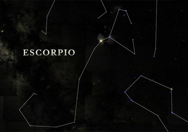 Constelacion de Escorpio - Sendas del viento