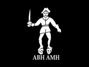 Bandera pirata de Bartholomew Roberts AMH - ABH