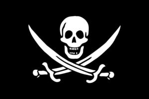 Bandera pirata de Calico Jack