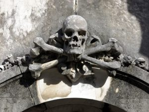 Símbolo cementerio