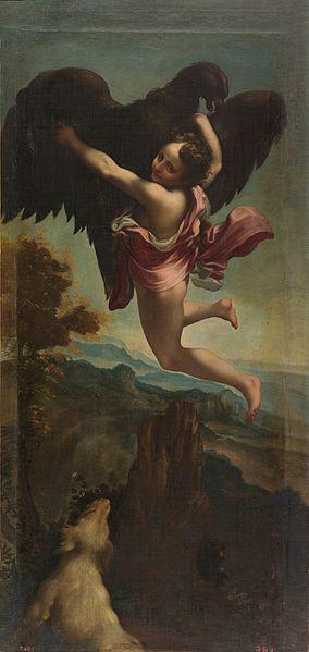 El rapto de Ganimedes - Eugenio Cajes