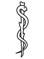 La vara de Esculapio