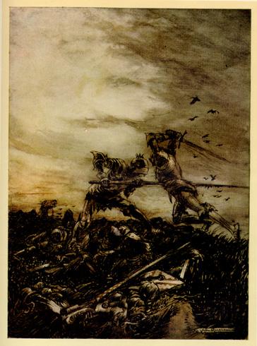La batalla de Camlann - Sendas del viento