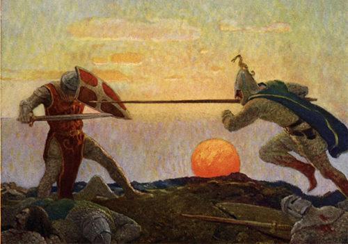 Mordred y el rey Arturo - Sendas del viento